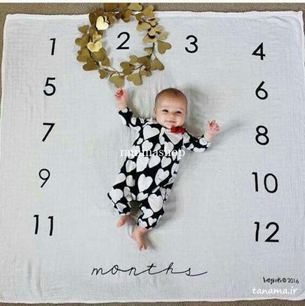 ایده عکس نوزاد دو ماهه پسر
